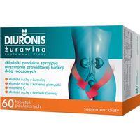 Diuronis Żurawina 60 tabletek - sprzyja utrzymaniu prawidłowej funkcji dróg moczowych Kurier: 13.75, odbiór osobisty: GRATIS!