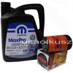 Filtr oleju FRAM oraz oryginalny olej MOPAR 10W30 Dodge Nitro 3,7 V6 -2008