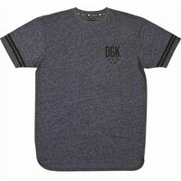 koszulka DGK - Never Enough Custom Black Heather (BLACK HEATHER)
