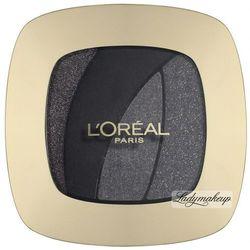 L'Oréal - COLOR RICHE LES OMBRES - Zestaw 4 cieni do powiek - S13 - MAGNETIC BLAC