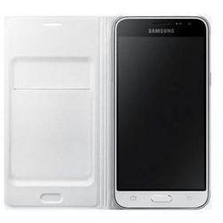 Pokrowiec na telefon Samsung dla Galaxy J3 z klapką (EF-WJ320PB) (EF-WJ320PWEGWW) białe