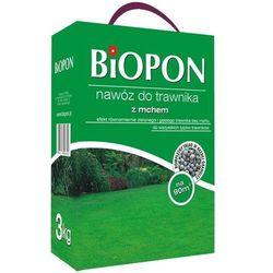 Nawóz do trawnika z mchem Biopon 3 kg