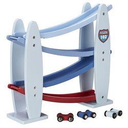 Kids Concept, Zjeżdżalnia dla samochodów, drewniana Darmowa dostawa do sklepów SMYK