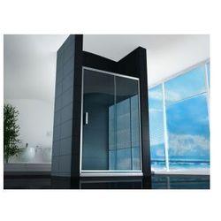4402 Drzwi przesuwne 90x190, szkło transparentne powłoka Easy Clean