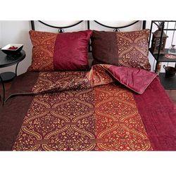 Pościel satynowa Noble Mosaic Ruddy 100% bawełny