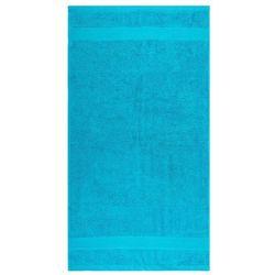 Ręcznik kąpielowy Olivia turkusowy, 70 x 140 cm, 70 x 140 cm