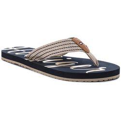 b75c1637b1cac Japonki TOMMY HILFIGER - Low Beach Sandal FW0FW02372 Cobblestone 068