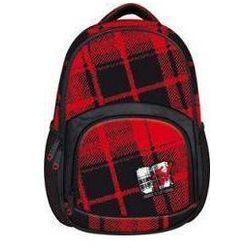 572234b51a2c2 plecak elis 2 czerwono czarny - porównaj zanim kupisz