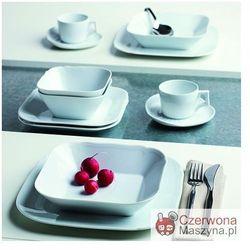 Zestaw porcelany 12 el. Centuries Feston white