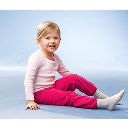Dziecięce spodnie z polaru, czerwony