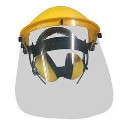 Osłona twarzy AGROPARTS z podnoszoną przyłbicą + ochronniki słuchu + Zamów z DOSTAWĄ W PONIEDZIAŁEK!