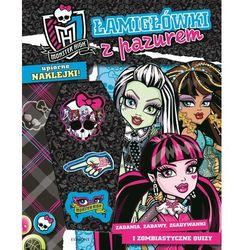 Łamigłówki z pazurem Monster High. (opr. miękka)