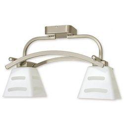 DIPOL lampa sufitowa plafon 2 płomienna ( satyna )