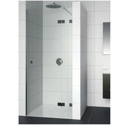 RIHO ARTIC A104 Drzwi prysznicowe 100x200 LEWE, szkło transparentne EasyClean GA0070201