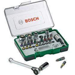 Zestaw kluczy nasadowych i bitów Bosch 2607017160, 27 szt.