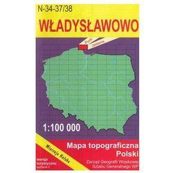 WZKart: WŁADYSŁAWOWO 1:100 000 mapa topograficzna Polski wydanie turystyczne (opr. miękka)