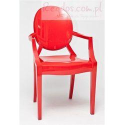 Krzesło Royal czerwone