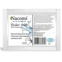 Nacomi, Shaker mask, maska peel-off do twarzy z kwasem hialuronowym, 25g