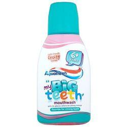 AQUAFRESH 300ml Kids Big Teeth 6+ Płyn do płukania jamy ustnej dla dzi