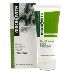 Macrovita FACE PEELING Peeling do twarzy z bio-oliwą z oliwek i bio-aloesem (31043)