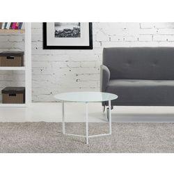 Nowoczesny stolik kawowy bialy 60x40 cm - lawa - stól - TRIBECA