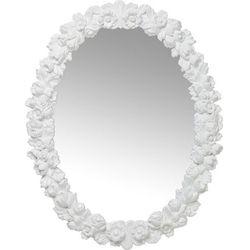 Kare Design :: Lustro Fiorellino białe 74x94 cm