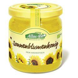 Miód słonecznikowy BIO 500g - ALLOS