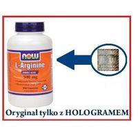 L-Arginine 500 mg - Arginina - 250kaps