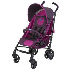Chicco, Lite Way Purple, wózek spacerowy z pałąkiem Darmowa dostawa do sklepów SMYK
