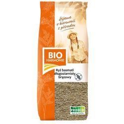 Ryż Basmati brązowy długoziarnisty BIO 500g bezglutenowy