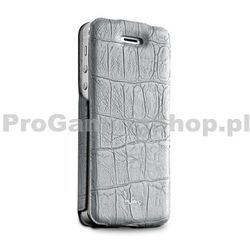 Etui książkowe Puro Wallet Case do Apple iPhone 5, 5S a SE, Grey Crocodile