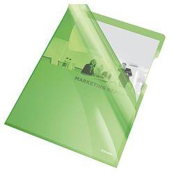 Ofertówka krystaliczna L Esselte A4/25szt.,150mic.-zielona