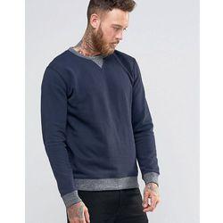 Lee Crew Sweatshirt Navy 2 Tone - Navy