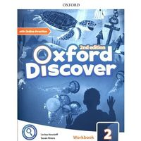 Oxford Discover: Level 2: Workbook with Online Practice (opr. broszurowa)
