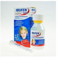 Ibufen forte zawiesina o smaku truskawkowym 100ml