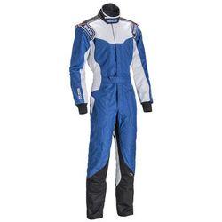 Kombinezon dziecięcy Sparco KS-5 niebieski (homologacja CIK FIA)