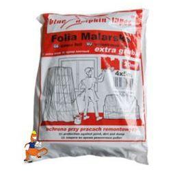 FOLIA MALARSKA EXTRA GRUBA 4X5M FIRMY BLUE DOLPHIN TAPES