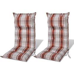 vidaXL Poduszki na krzes?a ogrodowe, fotele. Darmowa wysy?ka i zwroty