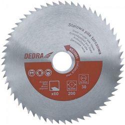 Tarcza do cięcia DEDRA HS40080 400 x 30 mm do drewna stalowa