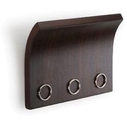 Piękny wieszak na klucze Magnetter brązowy