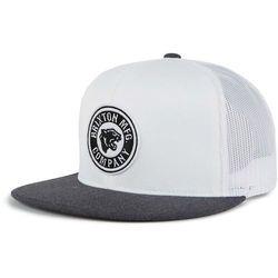 abc664da4c4 czapka z daszkiem BRIXTON - Forte Mp Mesh Cap White Heather Charcoal (WHCHR)