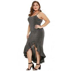 14f35507dc suknie sukienki asos plus size ladna sukienka w kratke (od SIMPLE U ...