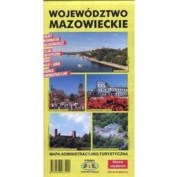 Województwo Mazowieckie. Mapa administracyjno-turystyczna (opr. broszurowa)