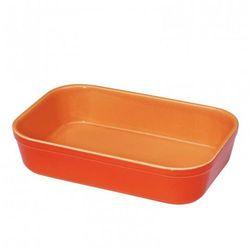 Kuchenprofi Naczynie żaroodporne prostokątne pomarańczowe