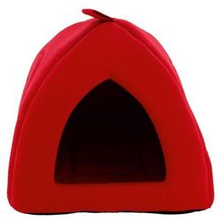 KRAKVET Domek Iglo nr 1 38x34 cm kolor: czerwony