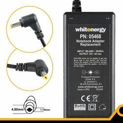 Whitenergy Zasilacz 12v/3a Wtyk 4.8x1.7mm