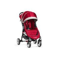 Wózek spacerowy City Mini Single 4W Baby Jogger + GRATIS (crimson/gray)