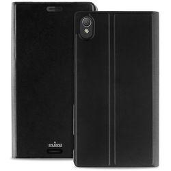 PURO Booklet Wallet Case - Etui Sony Xperia Z3 z kieszenią na kartę (czarny) Odbiór osobisty w ponad 40 miastach lub kurier 24h