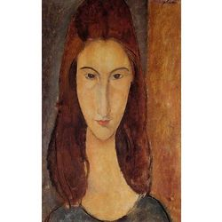 Jeanne Hebuterne - The Artist's Wife - Amadeo Modigliani