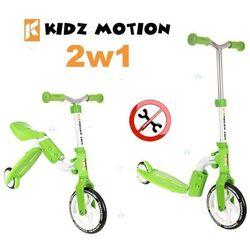 Hulajnoga rowerek biegowy 2 in 1 Motion FIOLETOWA #G1
